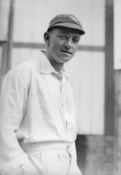 Walter 'Wally' Hammond (Gloucestershire and England cricketer) 1929. Played 85 tests for England over a 20 year period. Considered by many to be England's greatest ever batsman, his test average of 58.45 is the second highest of any Englishman