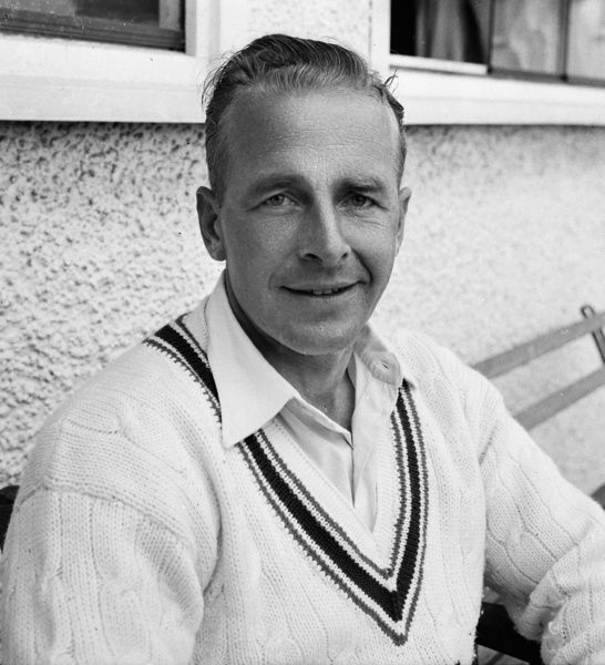 Cricket - 1958 season     Leicestershire's Willie Watson.     He was a 'Double International', who played 23 Tests for England between 1951 and 1959, and won four caps for the England football team in 1949/50. He also played football for Huddersfield Town