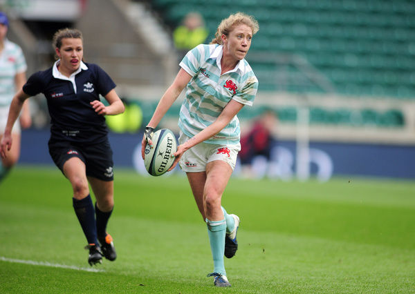 Rugby Union - 2015 Women's Varsity Match - Oxford University Women vs. Cambridge University Women  Emily McNally of Cambridge at Twickenham.  COLORSPORT/ANDREW COWIE