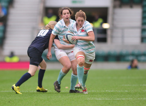 Rugby Union - 2015 Women's Varsity Match - Oxford University Women vs. Cambridge University Women    Hannah Cooper of Cambridge at Twickenham.    COLORSPORT/ANDREW COWIE