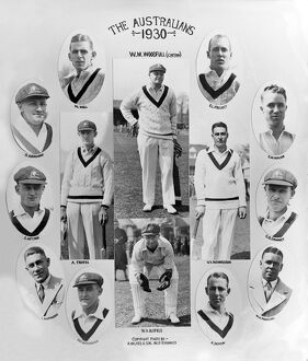 The 1930 Australian Touring Party to England