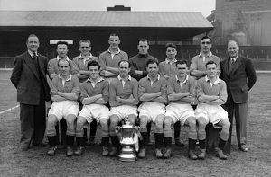 1948 FA Cup Winners Manchester Utd