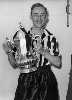 1955 FA Cup Final: Newcastle 3 Man City 1