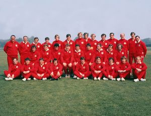 1971 British Lions Tour Party Team Group