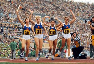 1972 Munich Olympics - Women's 4x400m Relay