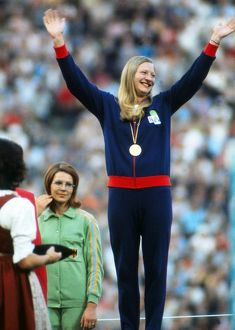 1972 Olympic Pentathlon Champion Mary Peters