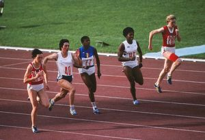 1980 Moscow Olympics - Women's 100m