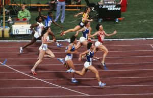 1980 Moscow Olympics - Women's 100m Final