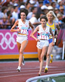1984 Los Angeles Olympics - Women's 3000 metres Final