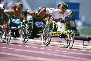 1992 Barcelona Olympics: Wheelchair Racing