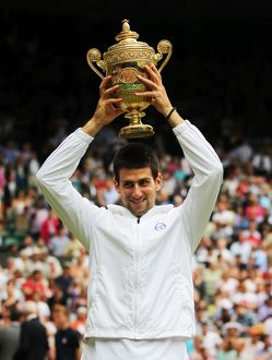 2011 Wimbledon champion Novak Djokovic