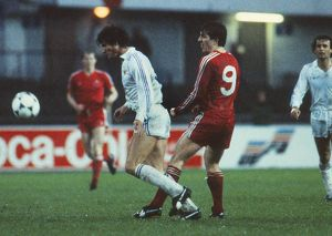 Aberdeen's Mark McGhee (#9) - 1983 European Cup Winners' Cup Final