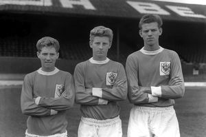 Alan Ball, Gordon Marsland, Graham Rowe - Blackpool
