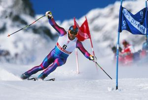 Alberto Tomba - 1992 Albertville Winter Olympics - Men's Giant Slalom