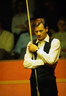 Alex Higgins at the 1988 World Snooker Championships