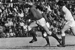 Andy Ripley on the charge for the British Lions in 1974