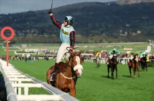 AP McCoy on the Mr Mulligan on the way to winning the 1997 Cheltenham Gold Cup