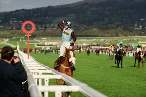 AP McCoy on the Mr Mulligan wins the 1997 Cheltenham Gold Cup
