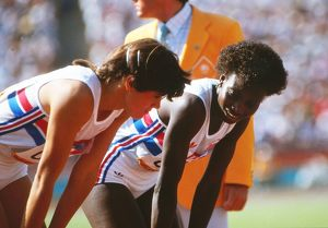 athy Smallwood-Cook and Beverley Callender - 1984 Los Angeles Olympics