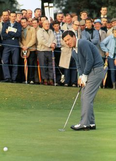 Australia's Peter Thomson at the 1969 Open Championship