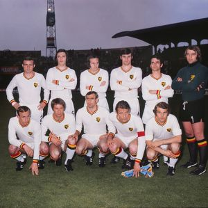 The Belgium team at Euro 72
