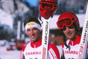 Bell brothers - 1988 FIS World Cup - Val d'Isere