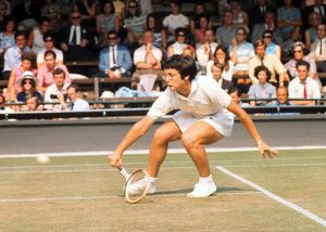 Billie Jean King - 1970 Wightman Cup