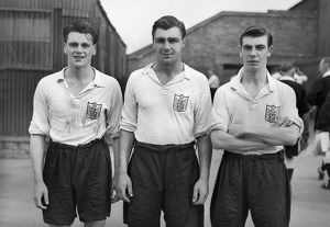Bobby Robson, Gordon Brice, Johnny Haynes - Fulham