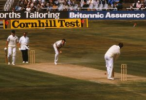 Botham & Dilley during their partnership at Headingley in the 1981 Ashes