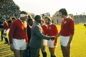 The British Lions face the Leopards in 1974