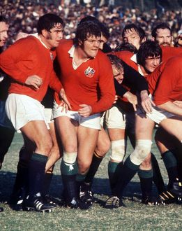 British Lions forwards in 1974