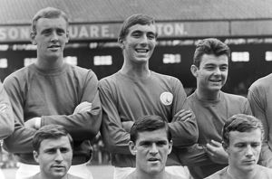 Charlton's Keith Peacock and Mike Rose - football's first ever substitutes