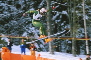 Clare Booth - 1984 Sarajevo Winter Olympics - Women's Downhill