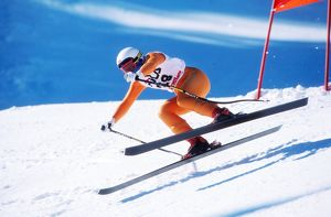 Clare Booth - 1987 FIS World Ski Championships