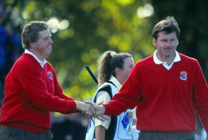 Colin Montgomerie and Nick Faldo - 1993 Ryder Cup