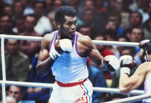 Cuba's Teofilo Stevenson - 1980 Olympic Heavyweight Champion