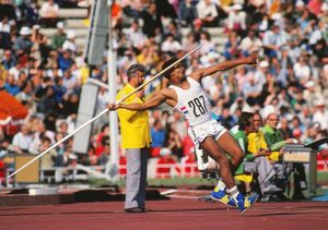 Daley Thompson at the 1980 Moscow Olympics