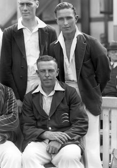 Denis Compton and Joe Hulme - Middlesex C.C.C. 1936