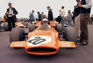 Derek Bell - 1969 British Grand Prix