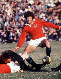 Dick Milliken - 1974 British Lions Tour to South Africa