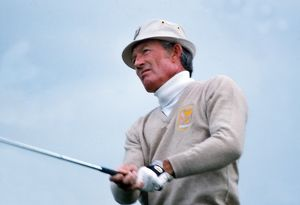 Don January of the USA during the 1977 Ryder Cup