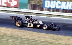 Emerson Fittipaldi at the 1972 British Grand Prix