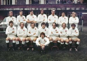 The England team that faced Wales in the 1975 Five Nations