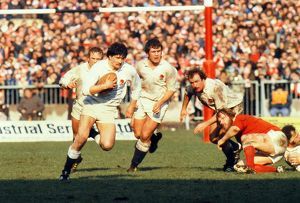 England's Richard Cardus - 1979 Five Nations