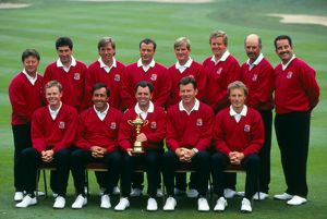The European team at the 1993 Ryder Cup