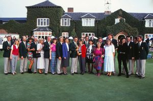 The European team that retained the Ryder Cup at the Belfry in 1989