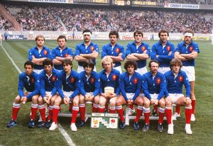 French team that faced England in the 1982 Five Nations