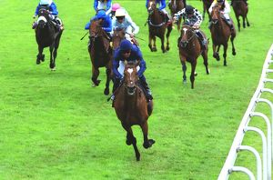 Galileo wins the 2001 Derby