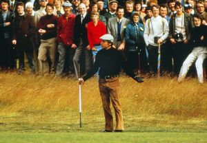 Gary Player at the 1974 Open