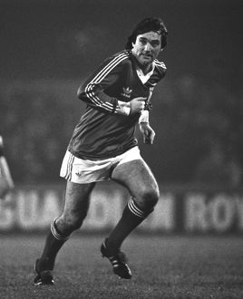 George Best plays for Ipswich Town in 1979